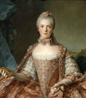 Jean-Marc Nattier - Portret van Madame Adélaïde