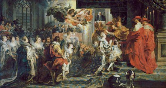 Peter Paul Rubens - de Kroning van Maria de Medici