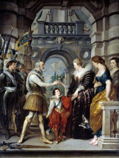 Peter Paul Rubens - Het Regentschap van Maria de Medici