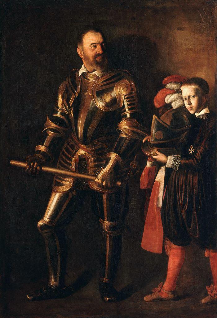 Caravaggio - Portret van Alof de Wignacourt