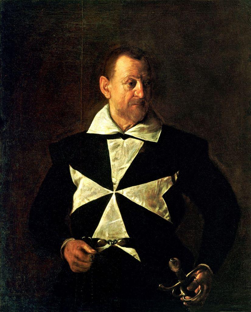 Caravaggio - Portret van Antonio Martelli
