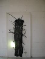 Ohne Titel 1984 Objekt 210 x 105 cm