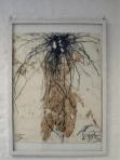 Serie Stromboli I, 1985 13 Mischtechniken auf Papier 110 x 90 cm