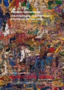Thomas Gatzemeier_Dick aufgetragen