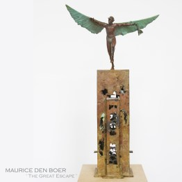 The Great Escape Sculpture Maurice Den Boer