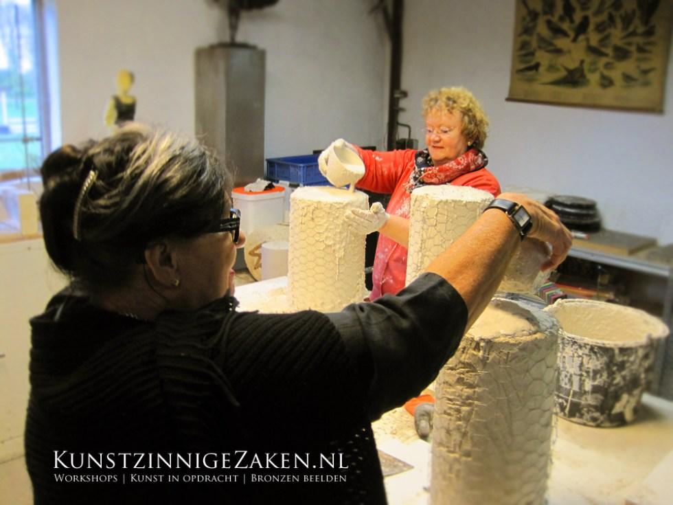 Cursus bronsgieten Drenthe Workshops