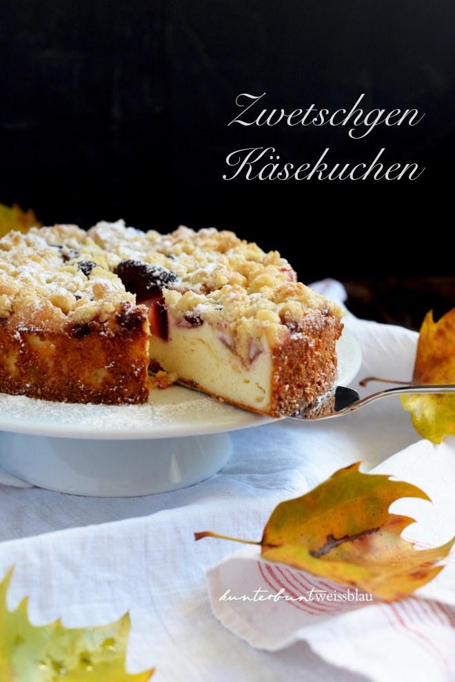 Zwetschgencheesecake