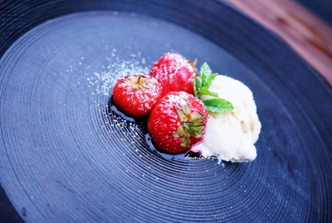 Erdbeeren sousvide gegart