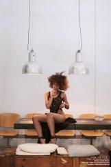 · PHOTO : Kunydiamond Studio · Model : Stella Mistral · Make Up : Silvia Romero Make Up Artist · Location : Red House Art&Food