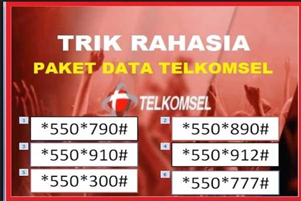 Kode Paket Internet Telkomsel Murah