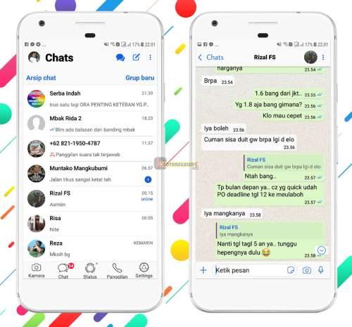 14+ Tema iOS XML Untuk RC WhatsApp Terbaru 2019