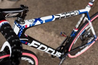 Jeremy Powers' (Rapha-Focus) Stars & Stripes bike.