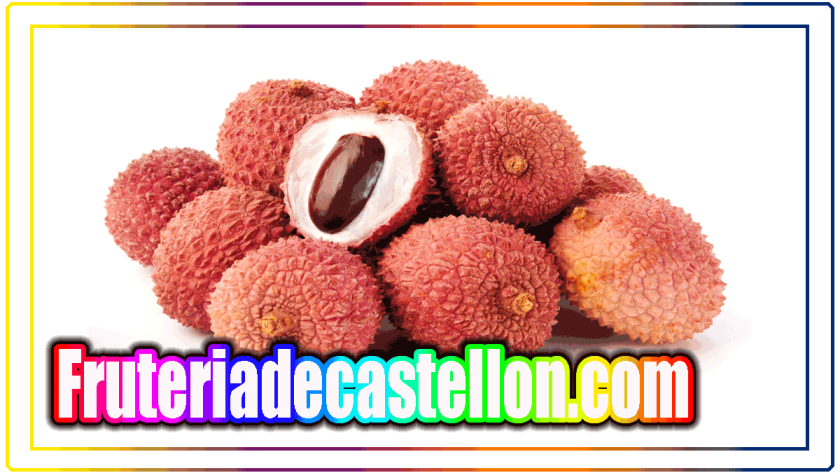 Lychee, lychee, leechee, lychee or Chinese cherry - fruteriadecastellon.com - litchis chinensis