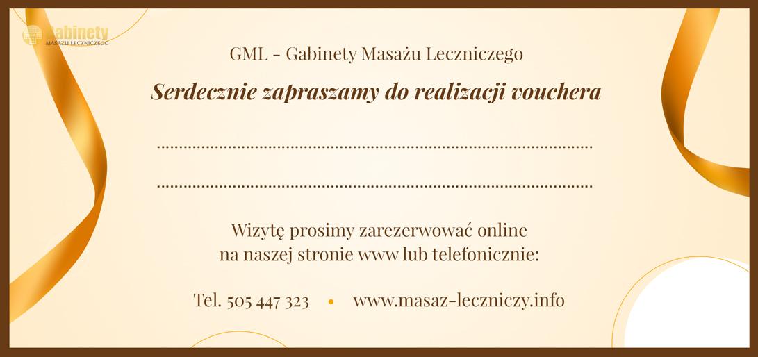 Voucher masaz krakow