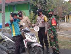 Tak Pakai Masker Saat Pandemi Covid-19, Belasan Warga Girisubo Terjaring Razia