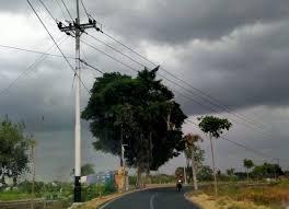 Cuaca buruk di Yogyakarta