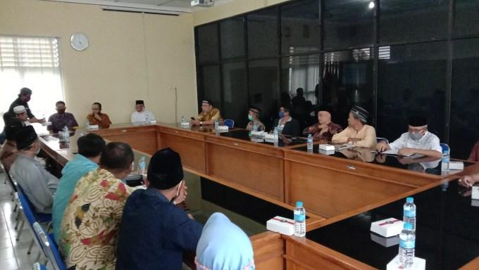 Silaturahmi Sutrisna - Ardi dan partai koalisi dengan PDM Gunungkidul nungkidul