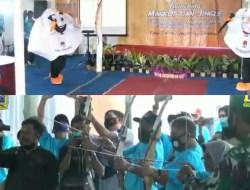 Lunching Jinggle Dan Maskot KPU,  Bupati Ingatkan Kunci Keberhasilan Pilkada Adalah Partisipasi Masyarakat