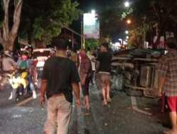 Tiga Mobil Terlibat Kecelakaan Jalur Jogja Wonosari,  Satu Orang Tewas Di Lokasi Kejadian
