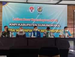 KNPI Gunungkidul Latih OKP Tentang Pembentukan Kader Kepemimpinan