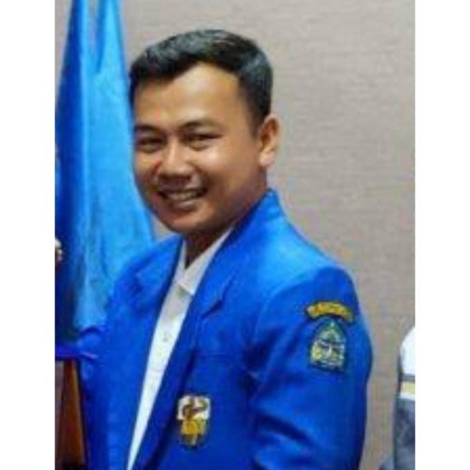 Ketua KNPI Gunungkidul Heri Santosa