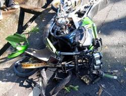 Pacu Sepeda Motor Ninja Hingga Menabrak Honda Supra, Seorang Pelajar Nginap di Rumah Sakit