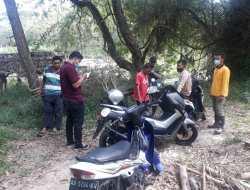Pergi Mancing di Sungai Oya, Sartono Kehilangan Sepeda Motor