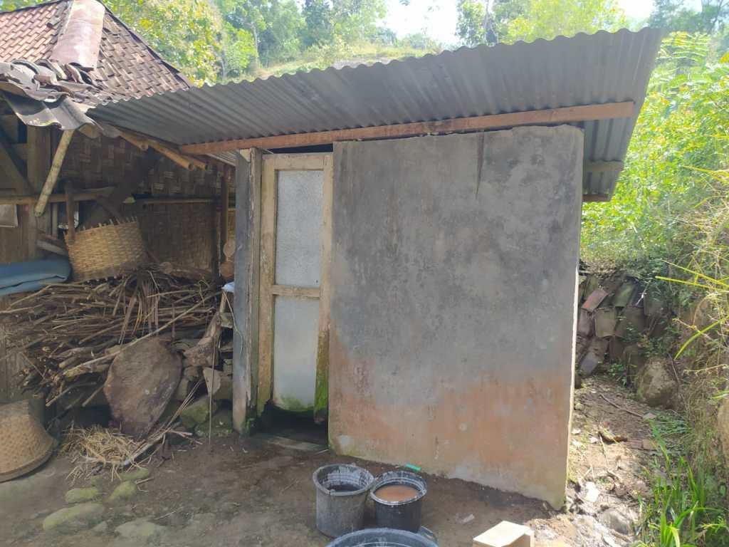 Kondisi Rumah Dian Wulandari Sebelum Direnovasi