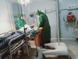 Laka Maut di Perempatan Playen, Pengendara Vario Meninggal di Rumah Sakit