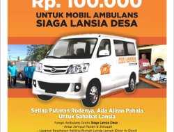 Perluas Jangkauan Layanan, Pos Lansia Pacarejo Gerakkan Patungan Mobil Ambulan
