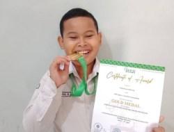 Bocah Asal Girisubo Raih Medali Emas Dalam Ajang International Invention Competition for Young Moslem Scientist 2021