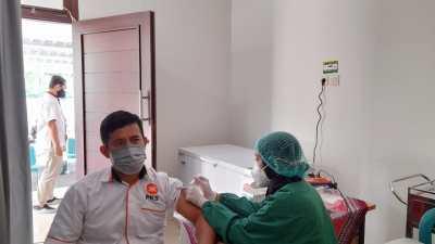 Vaksinasi DPD PKS Gunungkidul