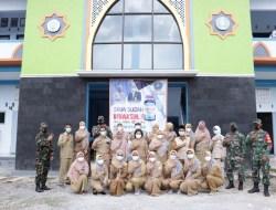 Bertempat di SMK Muhammadiyah Ponjong, Antusiasme Ratusan Siswa SMA-SMK di Ponjong Terima Vaksin COVID-19