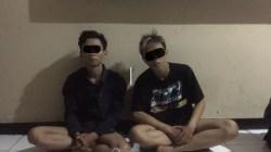 Dua Remaja Yang Diduga Klitih