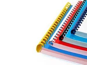 Брошюровка - переплет документов на пластиковую пружину