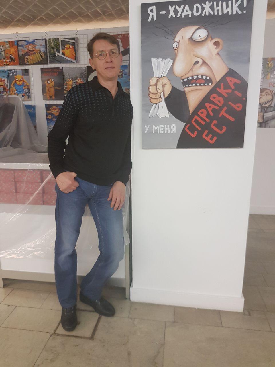 Работы Дмитрия Зайцева на выставке «АРТ-Ковчег»