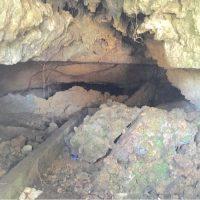那覇市牧志の「希望ヶ丘公園の壕」