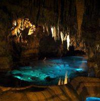 沖縄の鍾乳洞「玉泉洞」