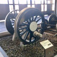 大宮の鉄博でみる「D50蒸気機関車の動輪」