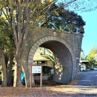 千葉公園に残る「演習用トンネル」