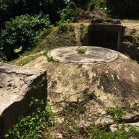南城市知念久手堅に残る「ウローカー砲台跡」