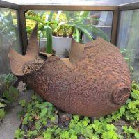 武蔵野市の延命寺に残る「250kg爆弾の破片」