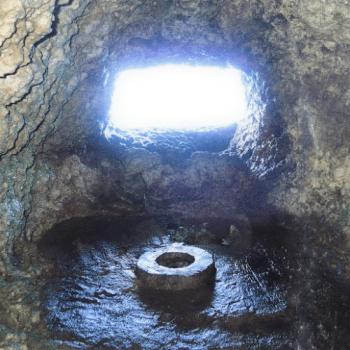 うえのドイツ文化村内にある「タカシカバーの機関銃壕」
