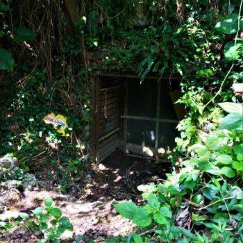那覇市首里金城町に残る「第32軍司令部壕 第5坑口」