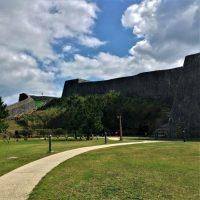 首里城内にある「ガマ遺構」と「留魂壕」