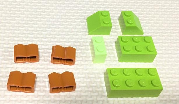 レゴ 木の作り方