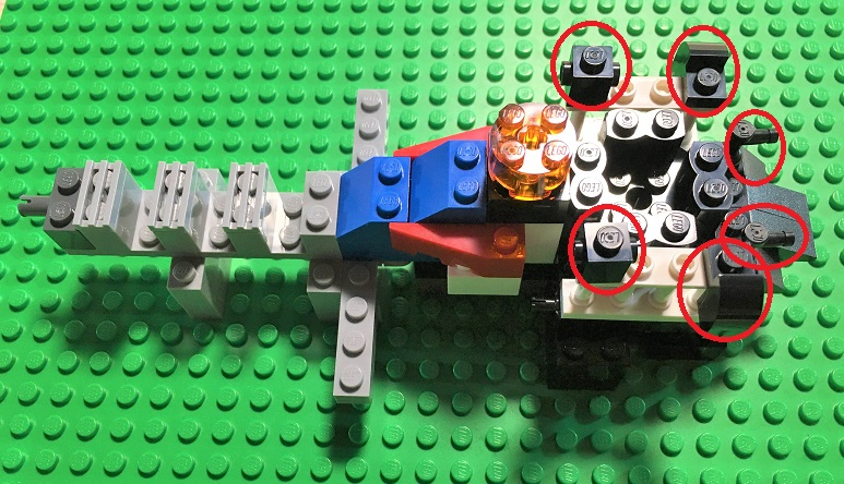 how to make a lego spaceship instructions