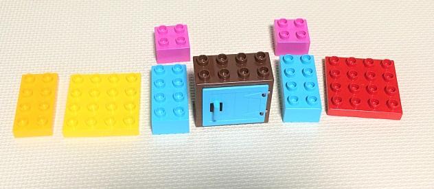 レゴ おうち ドア