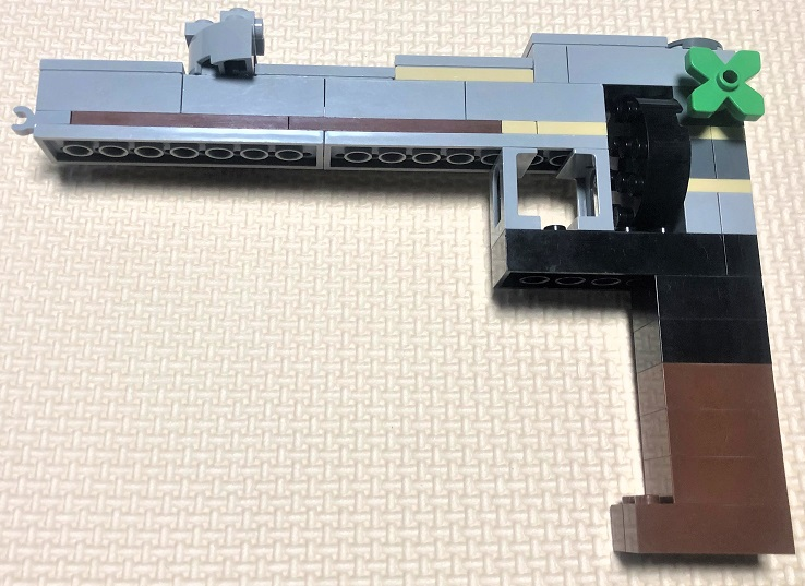 レゴ リボルバーの制作方法