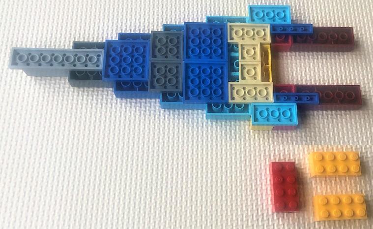 レゴ 戦艦の自作レシピ